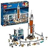 LEGO 60228 City Weltraumrakete mit Kontrollzentrum, Expedition zum Mars Set, von der NASA...