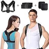 Geradehalter zur Haltungskorrektur,Rückenstütze Haltungstrainer für Damen und Herren,Schultergurt...