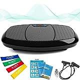 Bluefin Fitness Dual-Motor 3D Vibrationsplatte | Extra Große Anti-Rutsch-Oberfläche | Bluetooth...
