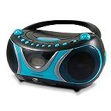 Metronic 477118 CD-MP3-Radio Sportsman Blau/Schwarz