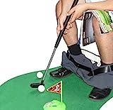 Amasawa Toiletten Golf Set, 6-teilig, Golfschläger, Circa 62 cm,Töpfchen Putter Badezimmer Spiel...