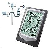 LJPzhp Multifunktionales Hygrometer Professionelle Wetterstation mit PC Link Haushalts...