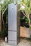 Räucherofen 180x40x40cm - Doppelwandig isoliert 1.4301 V2A-Edelstahl