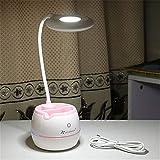 Cartoon Panda Led Tischlampe Für Studenten, Schwanenhals Nachttisch Schreibtisch Licht,...