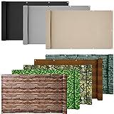ESTEXO® PVC-Balkonsichtschutz, Balkonbespannung, Balkonverkleidung, 6 Meter (0,75 x 6,0 Meter,...