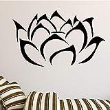 wopiaol Buddha Lotus Blumen Wandaufkleber fr Wohnzimmer Home Decoration Abnehmbare Abziehbilder DIY...