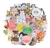 Top Aufkleber!  Set von 50 Tieren Aufkleber Premium Qualität - Vinyls Stickers Nicht Vulgär von...