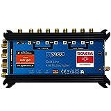 [ Test 2X SEHR GUT*] Anadol Gold Line Multischalter 9/8 für Satelit - Multiswitch für 2 Satelliten...