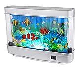 LED Deko Schreib Tisch Kinder- Spiel- Zimmer Lampe Leuchte Aquarium Fisch-Motive Globo 28963