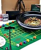 Jaquest of London - Roulette Set - 16 Inch Schwarzbuchse Roulette-Spiel (2 von 1) mit Black Jack...