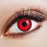Scary Vampire Kontaktlinsen farbig Fun Farbkontaktlinsen |DIA: 14.50 mm | Material: Polyhema |...