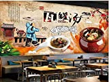 Benutzerdefinierte Tapete Retro Jiangxi Traditionelle Küche Crock Pot Suppe Werkzeug...