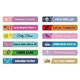 foliado® Namensaufkleber Kinder Etikett 45x7mm Sticker für Stifte Namensetikett Schule Kita...