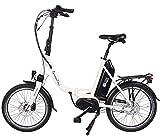 GermanXia Premium E-Bike Faltrad Mobilemaster E-Klapprad cm 8G Nabenschaltung Shimano mit...