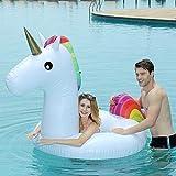 StyleBest Einhorn Baby Float aufblasbare Einhorn für Kinder Einhorn schwimmring, PVC Pool...