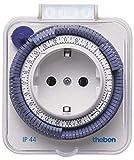 Theben 0260855 theben-timer 26 IP 44 - analoge Zeitschaltuhr für den Außenbereich,...