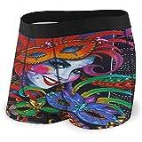Karneval Malerei Frauen Maske Farbe Männer 'S Boxer Briefs saugfähig komfortable Unterwäsche mit...