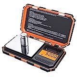 Brifit Feinwaage, Digitale Taschenwaage 200g/ 0,01 g Digitalwaage, Grammwaage, Goldwaage,...