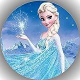 Fondant Tortenaufleger Tortenbild Geburtstag Frozen AMA108