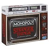 Monopoly Stranger Things Sammler-Edition Brettspiel ab 14 Jahren, englische Ausgabe
