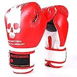 LLYY® Boxhandschuhe, Fight Gloves Boxsack Muay Thai/Training Sparring Kickboxen Sandsack Hide Leder...