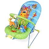 DREAMADE Babywippe mit Musik und Vibration, Babywiege Schaukelwippe Baby Schaukel verstellbar,...