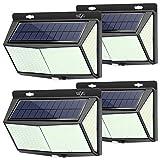 Solarlampen für Außen Bewegungsmelder Aussen, 268 LEDs Solar-Solarleuchten, IP65 Wasserdichte LED...