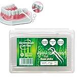 Bonbela 50Pcs Dental Floss Flosser Picks Zähne Zahnstocher-Stick Zahn reinigen Oral Care Dental...
