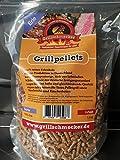 Grillschmecker Grillpellets - Holzpellets aus Reiner Erle für Grill, Pelletofen & Smoker - 1,5 kg...