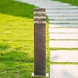 Außenleuchte Pollerlampe Außen-Standleuchte Wegeleuchte Aluminium Bronze Outdoor Gartenlampe...