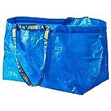 IKEA FRAKTA Tragetaschen in blau; 71 Liter, 3 Stck