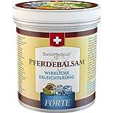 SwissMedicus - Pferdebalsam kühlend extra stark - Pferdesalbe Forte 500 ml - enthält 25...
