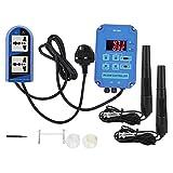 Sevenyou Online pH ORP Tester, pH-ORP Controller, Wasserqualitätstester, Flüssigkeitsanalyse,...