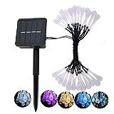 Yuany Solarleuchten für den Außenbereich, wasserdicht, 20 LEDs, solarbetrieben, Festival-Lichter...