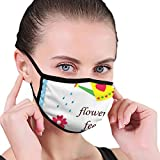 Architd Flowers Feed My Soul Poster Can Planting Cotton Face Mask Dust Filter Masken Earloop...