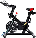 YANJ Übung Aerobic Indoor Cycling Bike Spin for Heim Cardio Workout Training, Quiet & glatt, mit...
