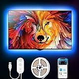 Govee RGB LED Strip, TV Hintergrundbeleuchtung, geeignet für 40-60 Zoll Fernseher und PC,...