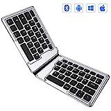 Jelly Comb Bluetooth Tastatur, Kabellose Wiederaufladbare Faltbare Tastatur fr Tablets, PCs, Laptops...