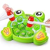 Teaisiy Spielzeug 1-6 Jahr, FroschSpielzeug Hammerspiel für Kinder ab 3-8 Jahre Weihnachts...
