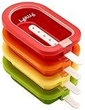 Lékué - Eisform, stapelbar, Mini, 9,8 cm, 4-teilig
