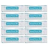 EXCEART 40 Stück Nasenspülsalz-Pakete Instant Nasenwaschsalz Spülmischung Allergie Reiniger für...