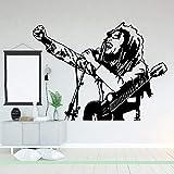 Tianpengyuanshuai Wandaufkleber Schlafzimmer Kinderzimmer Löwe Rockmusik Star Wandtattoo Wohnzimmer...
