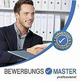 BEWERBUNGSMASTER Professional 2021 | Windows-Software auf CD + Downloadlink | Generator: Lebenslauf,...