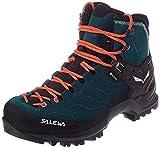 Salewa Damen WS Mountain Trainer Mid Gore-TEX Trekking-& Wanderstiefel, Atlantic Deep/Ombre Blue,...