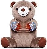 FYYDNR Back, Massage 15 Minuten Timing-Cervical Schulter Taille Multifunktions-Massagekissen...