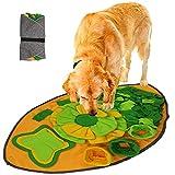 SUPCHON Schnüffelteppich Hunde, Hundespielzeug Intelligenz Trainingsmatte, Soft Waschbar Faltbar...