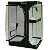 Zelsius Growzelt MyHomeGrow 2-in-1 Grow Tent | Indoor Growbox | schwarz grün | Growroom Growschrank...