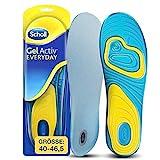 Scholl GelActiv Einlegesohlen Everyday fr Freizeitschuhe von 40-46,5  Verbesserter Komfort durch...