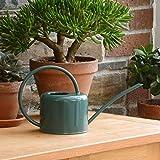 CKB LTD®, Gießkanne, 1,1 l, verzinkter Stahl, für Zimmerpflanzen, modernes Design mit schmalem...