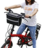 MDSTOP Fahrrad-Lenkertasche, Fahrradkorb mit Netztasche, Kälte- und Warmisolierung, reflektierender...